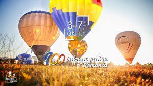 100 baloane pentru România